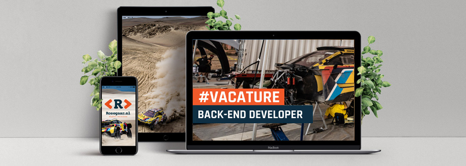 VACATURE: Back-end Developer (40 uur)